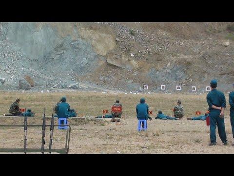 Kiểm tra bắn đạn thật -Khóa huấn luyện Dân quân tự vệ 16-21/6/2015