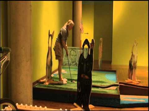 Salt Lake Art Center: Contemporary Masters Mini Golf