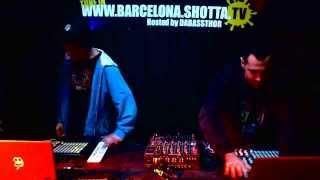 DUB RAIDER , FREESON vs RAVENTOS @ Shotta TV Barcelona . 31 10