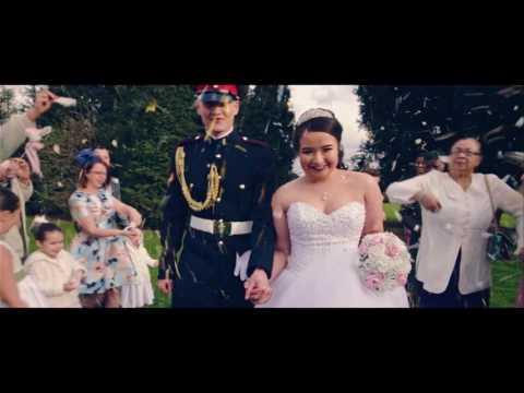 Rhiannan & Troy Military Wedding Highlights
