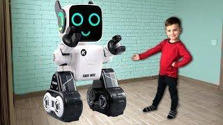 Сломалась волшебная палочка. Робот привез новую. Видео для детей.