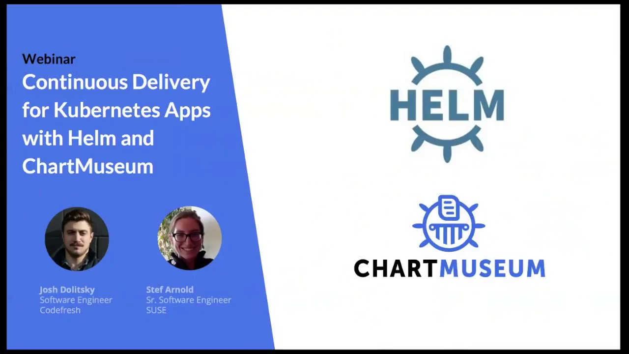 Continuous Delivery for Kubernetes Apps with Helm and ChartMuseum