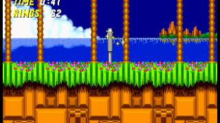 Sonic the Hedgehog 2 - Sonic the Hedgehog 2 Zone 1 (GEN) - User video