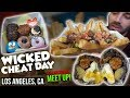 Cheat Day in LA with Special Guests | Wicked Cheat Day #48