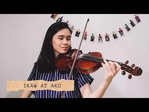 IKAW AT AKO - Moira Dela Torre and Jason Marvin  | Violin Cover by Justerini