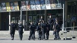 Geiselnahme in südhessischem Kino - Täter erschossen, keine Verletzten