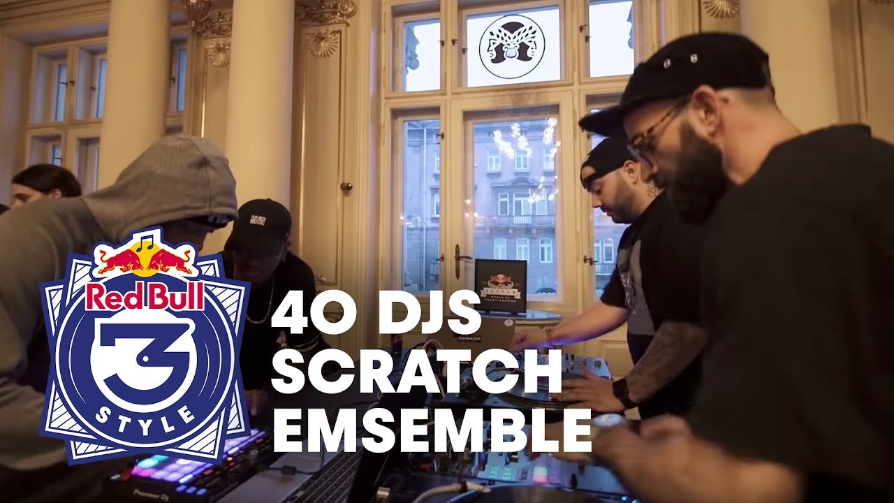 40 DJ Scratch Ensemble at the Red Bull 3Style World Final 2018 - YouTube
