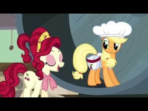 My little Pony - Applejack works in a Cherry Factory