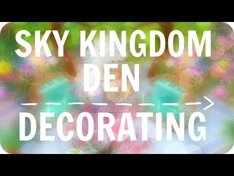 ANIMAL JAM: SPEED DECORATING - SKY KINGDOM DEN