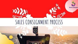 Demo-Sales Consignment Process