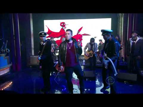 Gorillaz - Rhinestone Eyes on Letterman