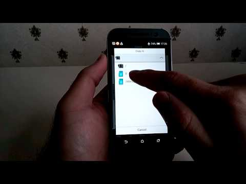 USB OTG ( On-The-Go ) on HTC One M8