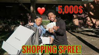 Took My Sister On A 5000 Shopping Spree For Supporting Me!