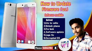 How to convert lte to volte ,firmware update in infocus mobile for tamil tutorial