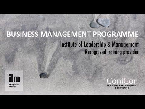Business Management Program, Nicosia, Jan - Jun 2015, in Greek language