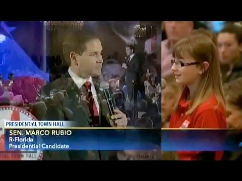 Marco Rubio/1st NH Presidential Town Hall Q&A 1/23/16