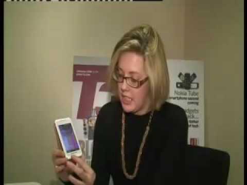 Toshiba TG01 mobile phone hands-on