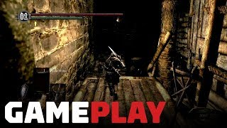 Dark Souls Remastered: Blighttown Gameplay on Nintendo Switch