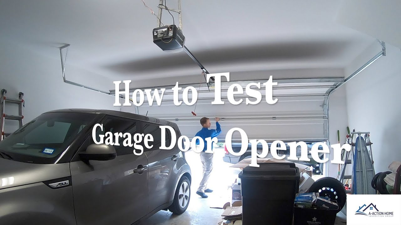 How To Test Garage Door Opener Motor Impremedia Net