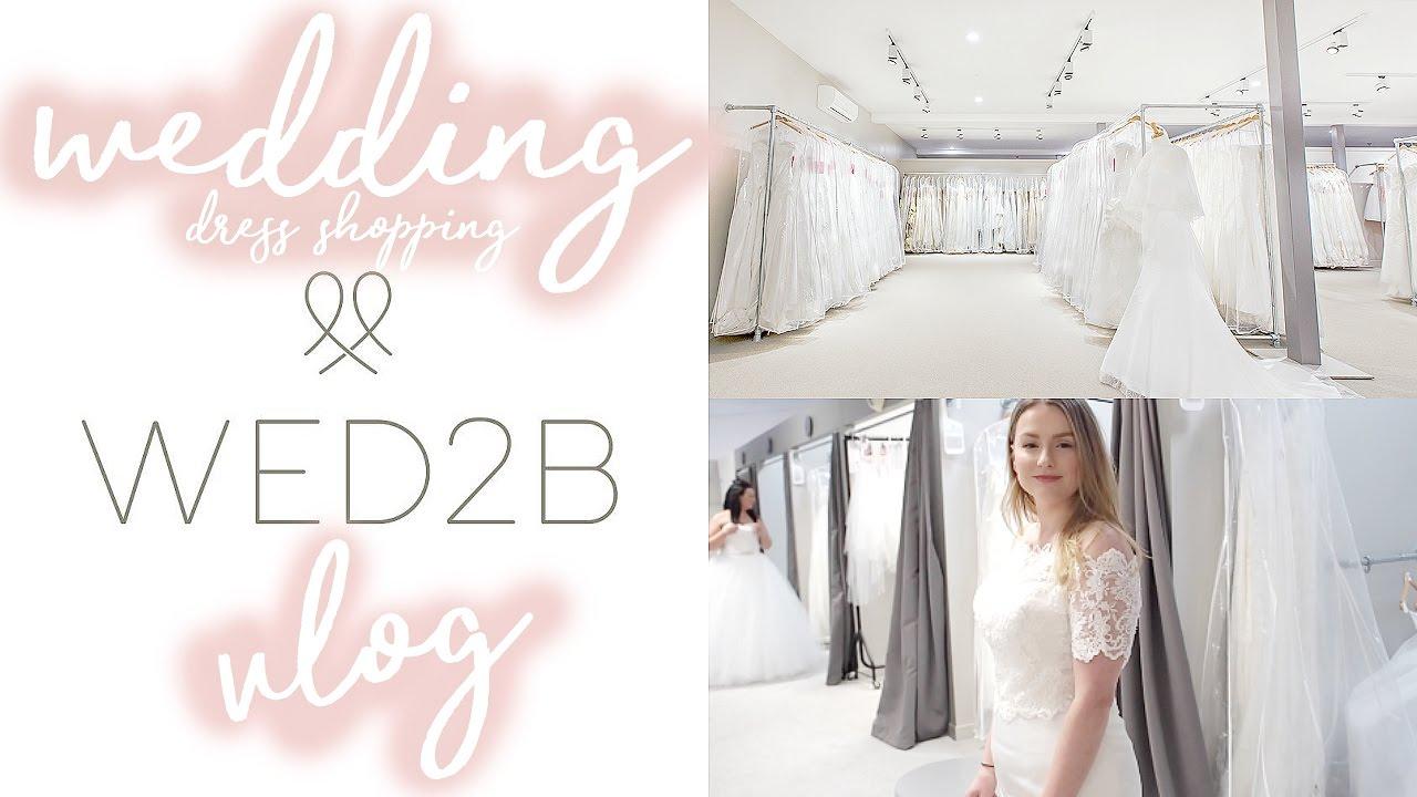 Come Wedding Dress Shopping With Me Wed2b Frankie Amelia Youtube