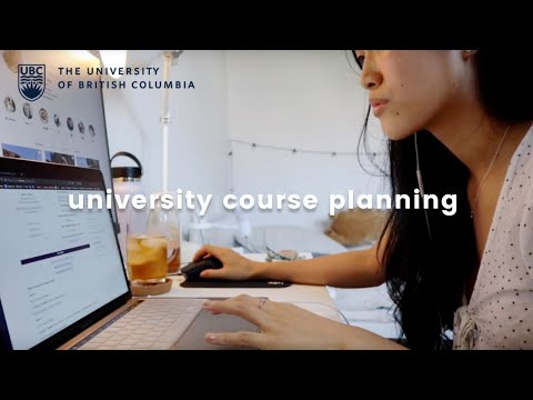 Ubc Course Planning Tips   Get Ready With Me + Q&a