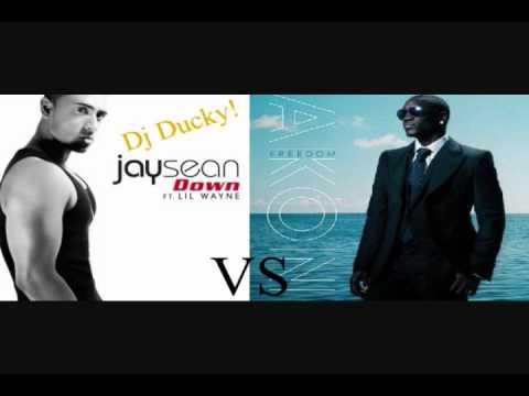 Akon Vs Jay Sean - Beautifully Down (Dj Ducky Mix)