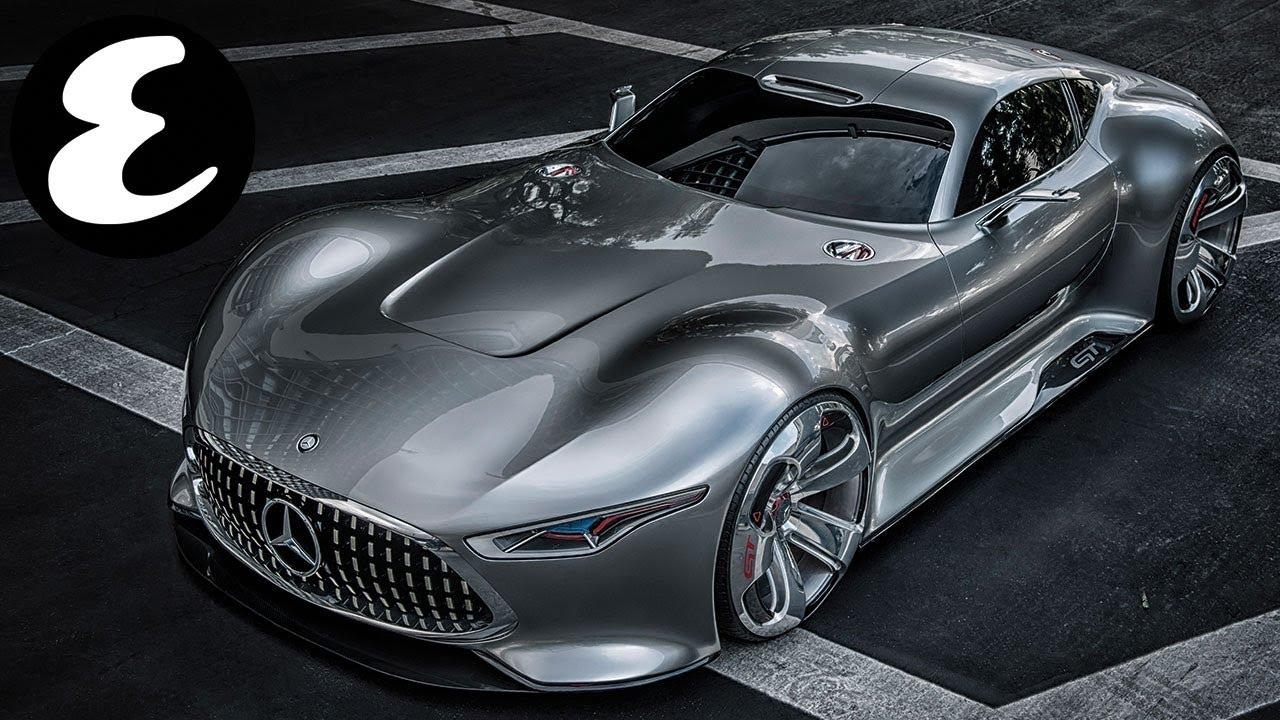 Batman's new car - the Mercedes-Benz Vision Gran Turismo ...