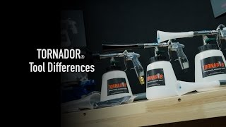 The TORNADOR Tool Differences