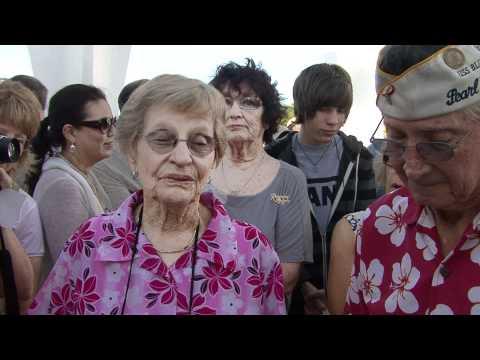 Pearl Harbor Survivor Remembrances 4 5 6 on USS Arizona Memorial