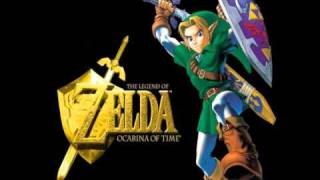 The Legend of Zelda Ocarina of Time Music - Hyrule Castle Courtyard