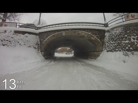 Rideau Canal Complete - February 2015 (Bottom to Top)