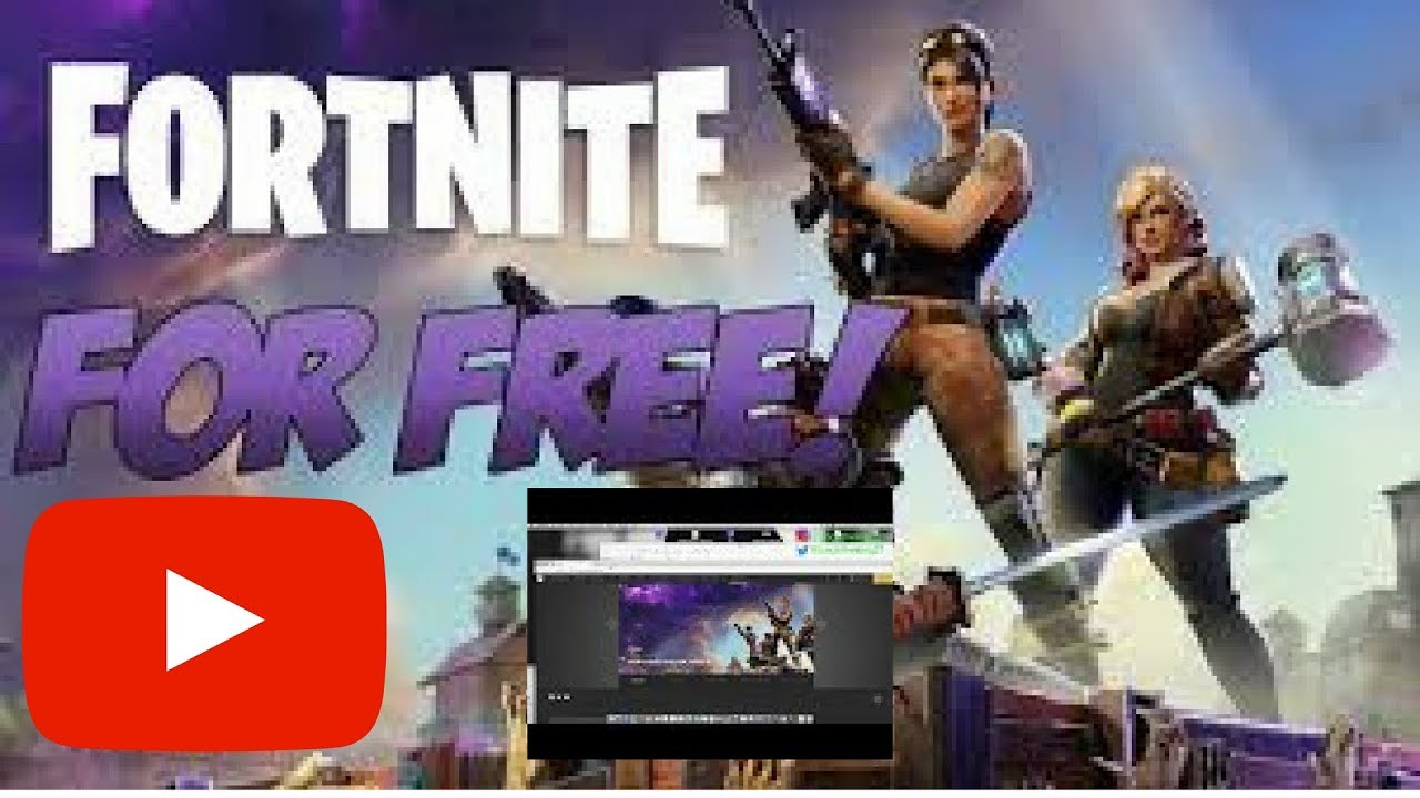 HOW TO DOWNLOAD FORTNITE FREE 2017-2018!!! PC! - YouTube