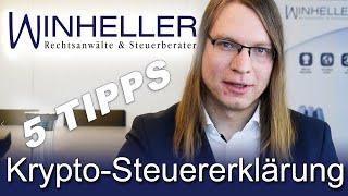 5 Tipps für die Krypto-Steuererklärung | Besteuerung verfassungswidrig?