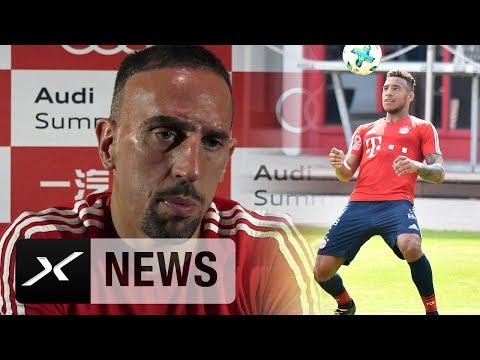 Franck Ribery: Werde Corentin Tolisso beim FCB führen | FC Bayern München
