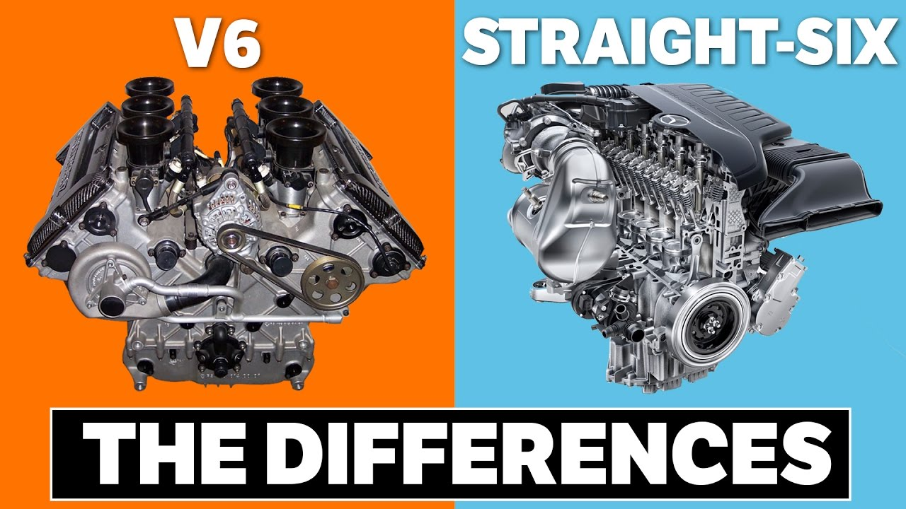 V6 Vs Inline 4 Cylinder Engine Diagram Best Electrical Circuit The Differences Between And Straight Six Engines Youtube Rh Com 250 Chevy 6 Jeep 40