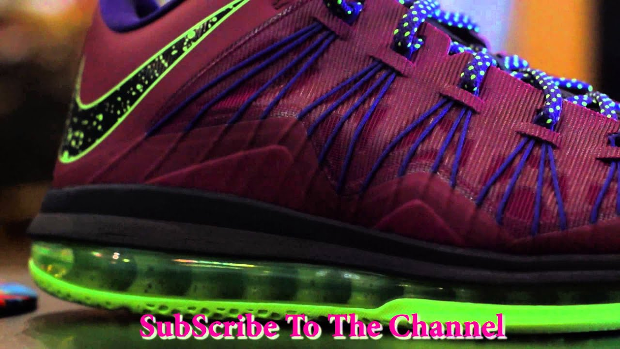 online store d0f1c b4721 Nike Air Max LeBron X Low