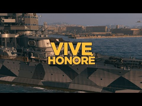 World of Warships - Vive Honoré