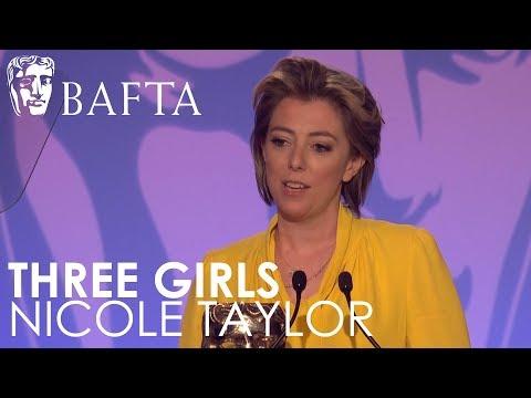 Nicole Taylor wins Writer: Drama for Three Girls | BAFTA TV Craft Awards 2018