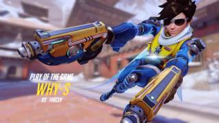 Overwatch: Best Tracer Play of The Game