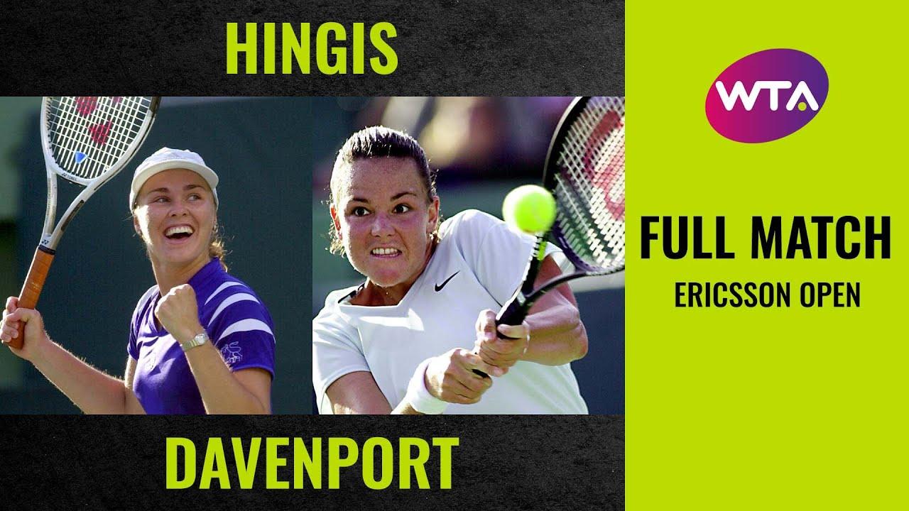 Martina Hingis vs. Lindsay Davenport | Full Match | 2000 Ericsson Open