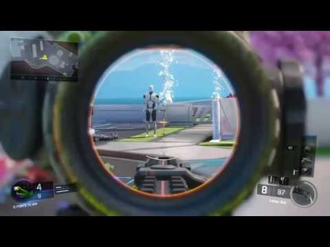Call of Duty: Black Ops 3 1v1 sniper aimbot hacker vs noob