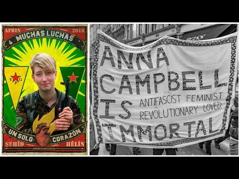 Memorial Video for the YPJ fighter Anna Campbell (Hêlîn Qereçox ...