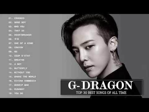 Best Of  G Dragon Songs   권지용 최신 인기가요 노래모음 연속듣기 뮤맵