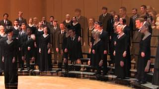 "CWU Chamber Choir:  Gjeilo - ""Ubi Caritas II: Through Infinite Ages"""