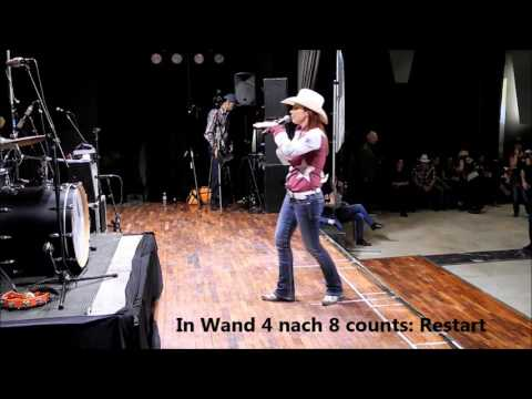 Line Dance From A to Z, Choreographie: Silvia Denise Staiti