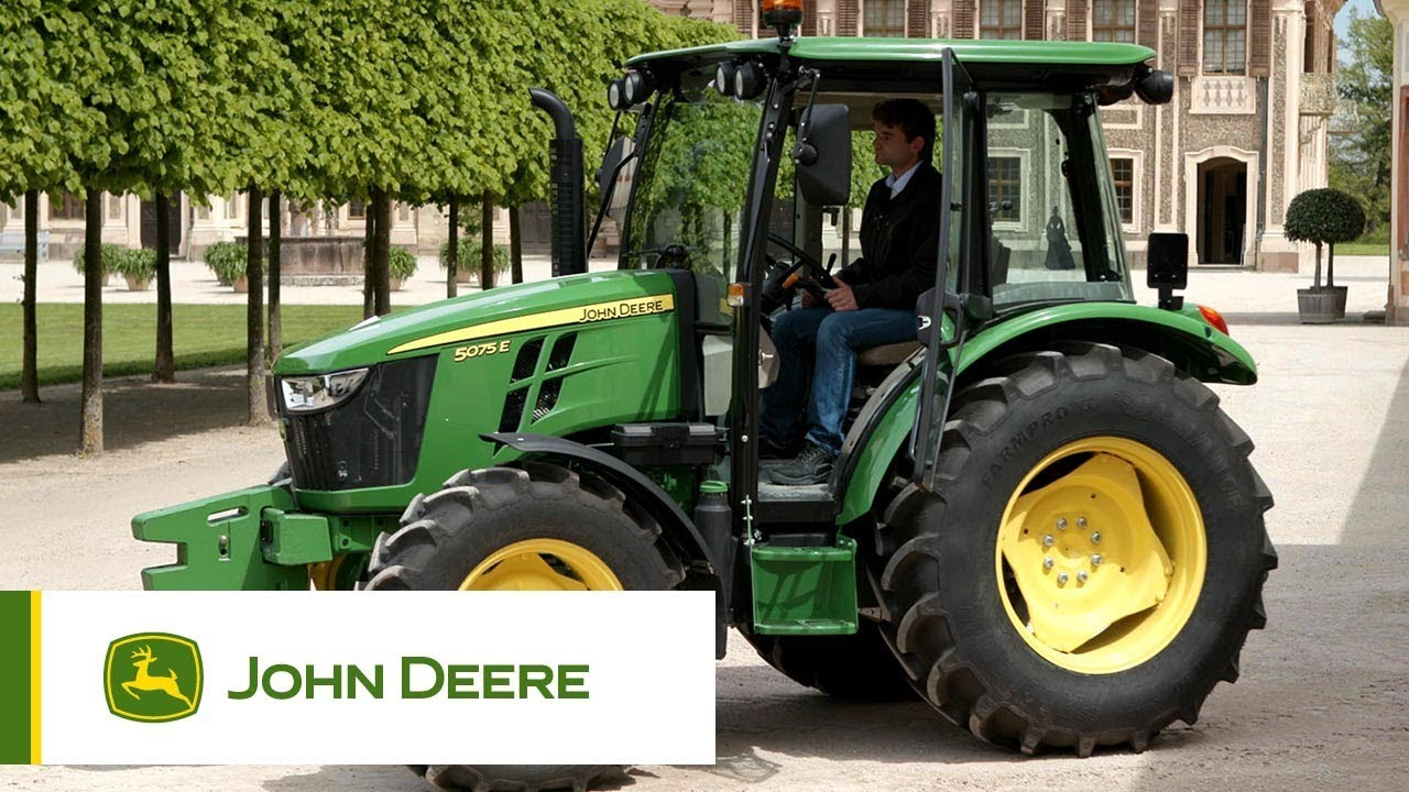 John Deere 2019 >> John Deere 5E Series Tractors - Walkaround - YouTube