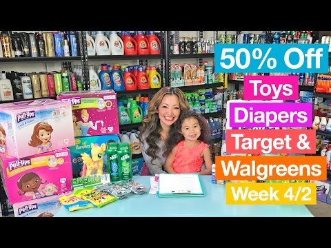★ 50% off Toys & Diapers + Best DEALS at Target & Walgreens (Week 4/2-4/8)