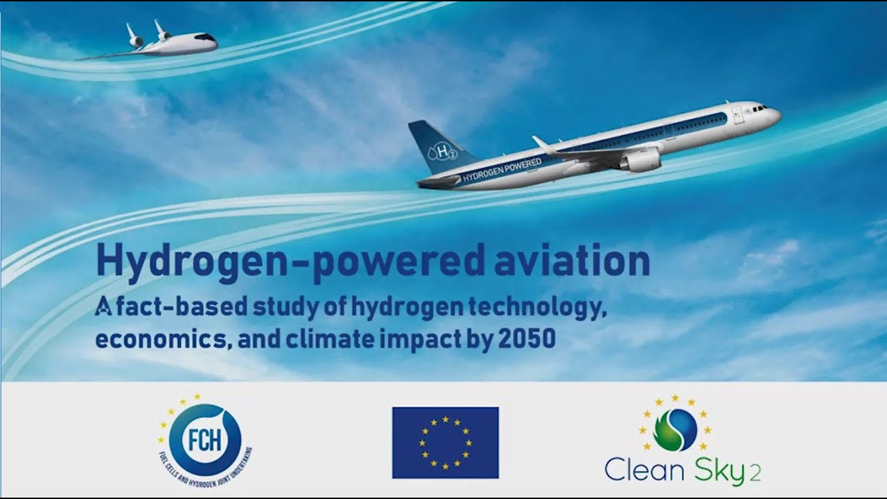 Clean Sky 2 study emphasizes need for hydrogen-powered aviation development