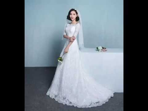 Beautiful Korean Wedding Dresses 2019 Youtube