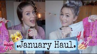 Haul ✧ January Sale (Brandy Melville, The Body Shop, H&M) Thumbnail